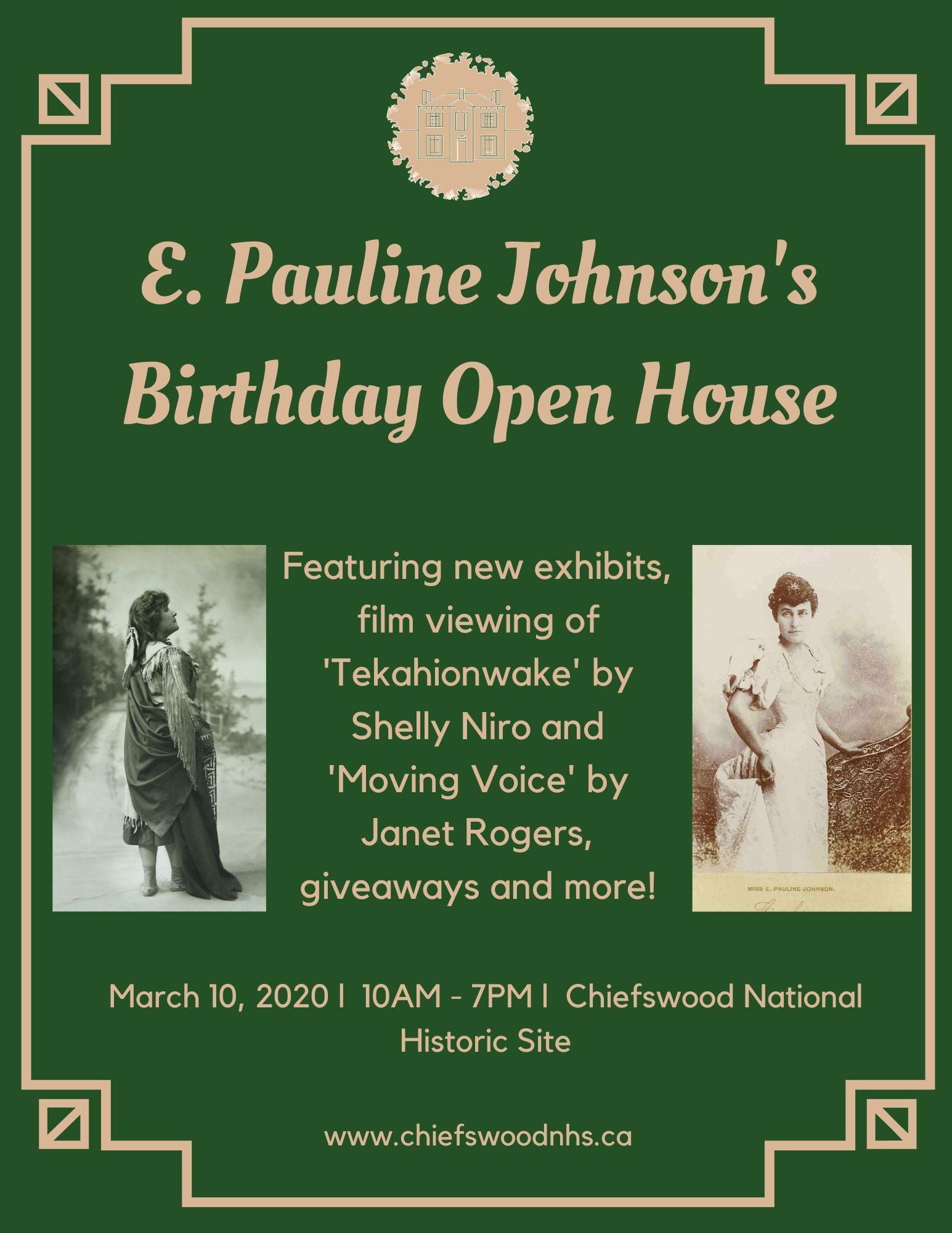 Celebration of E. Pauline Johnson